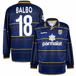 Lotto Parma 3rd L/S Balbo 18 (Ex-Kitroom) 1998-1999 - NEW Player Issue - Size XL *READY TO PUBLISH*