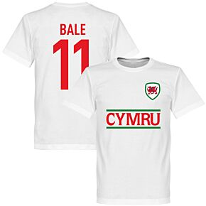 Cymru Bale Team Tee - White