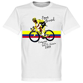 Egan Bernal Tee - White