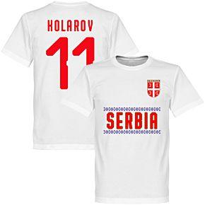 Serbia Kolarov 11 Team Tee - White