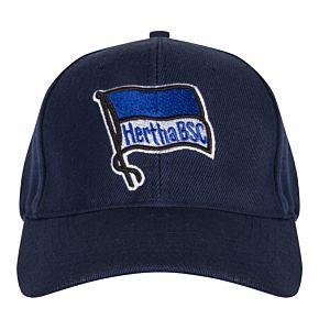 Hertha Berlin Logo Cap - Navy