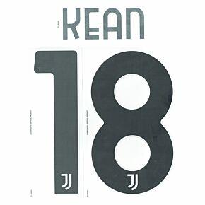 Kean 18 (Official Printing) - 21-22 Juventus Home