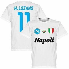 Napoli H. Lozano 11 Team Tee - White
