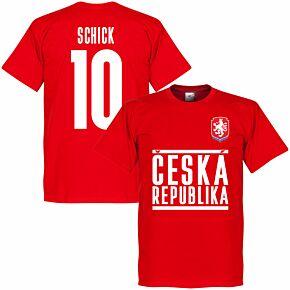 Czech Republic Schick 10 Team T-shirt - Red