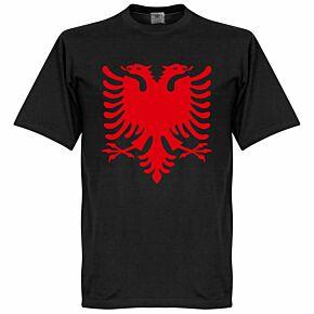 Albania Eagle Tee - Black