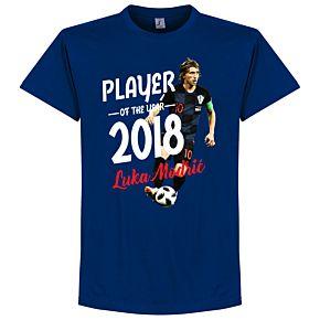 Modric Player of the Year 2018 Tee - Marine Blue