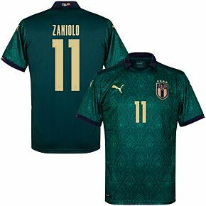 19-20 Italy Renaissance 3rd Shirt + Zaniolo 11 (Official Printing)