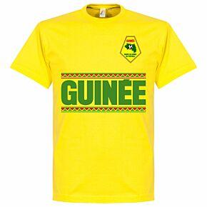Guinea Team Tee - Yellow