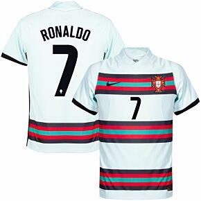 20-21 Portugal Vapor Match Away Shirt + Ronaldo 7 (Official Printing)