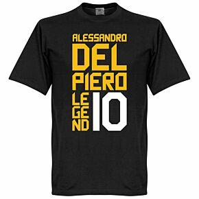 Del Piero Legend Tee - Black