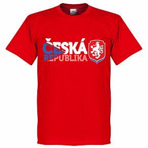 Czech Republic Tee - Red