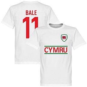 Cymru Bale 11 Team Tee - White