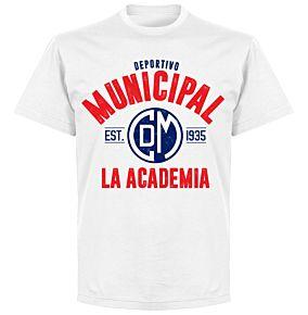 Deportivo Municipal Established T-Shirt - White