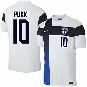 20-21 Finland Home Shirt + Pukki 10 (Fan Style)