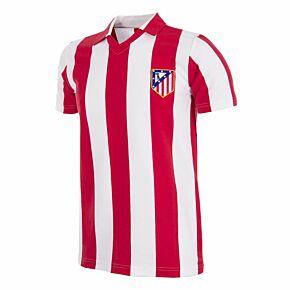 85-86 Atletico Madrid Home Retro Shirt
