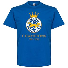 Leicester Foxes Champions 2016 KIDS Tee - Royal