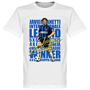Zanetti Legend Tee - White