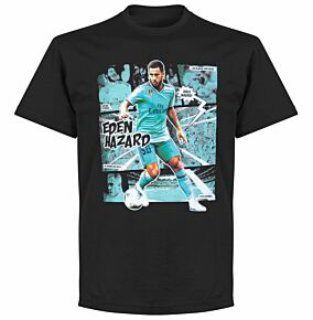 Hazard Comic Tee - Black