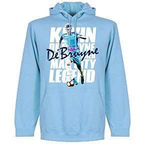 DeBruyne Legend Hoodie - Sky Blue