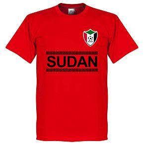 Sudan Team Tee - Red