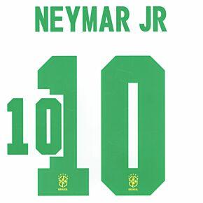 Neymar Jr 10 (Official Printing) - 20-21 Brazil Home