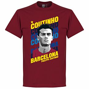 Coutinho Barcelona Portrait Tee - Red