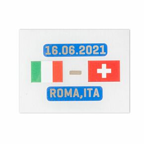 Official Euro 2020 Final Matchday Transfer Italy v Switzerland 16.06.2021 (Italy Away)