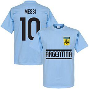 Argentina Messi Team Tee - Sky