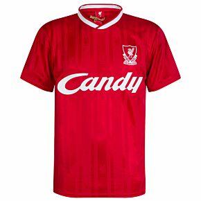 1989 Liverpool Home Retro Shirt