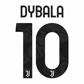 Dybala 10  (Official Club Printing)