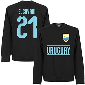 Uruguay Cavani 21 Team Sweatshirt - Black
