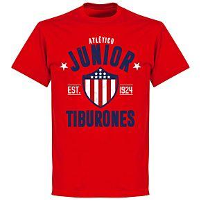 Junior Established T-Shirt - Red