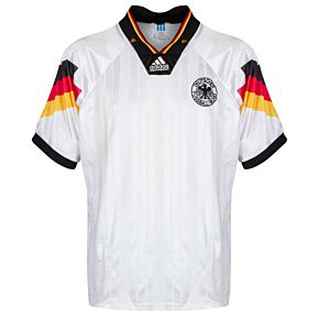 adidas Germany 1992-1994 Home Riedle 11 Jersey - USED Condition (Great) - Size M