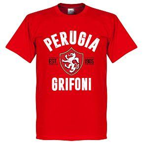 Perugia Established Tee - Red
