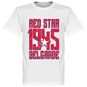 Red Star Belgrade 1945 Tee - White