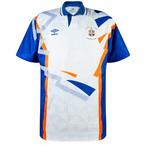 Umbro Luton Town 1991-1992 Home Shirt - USED Condition (Great) - Size L *READY TO PUBLISH*
