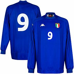 Kappa Italy 1999-2000 Home Shirt L/S NEW Condition (Excellent) Match Issue No.9 - Size XL *READY TO PUBLISH*