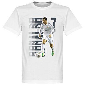 Ronaldo Gallery KIDS Tee - White
