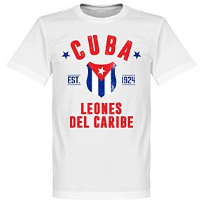 Cuba Established Tee - White