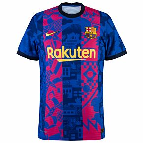 21-22 Barcelona 3rd Dri-Fit ADV Match Shirt