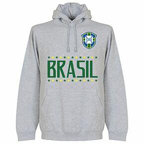 Brazil Team Hoodie - Grey