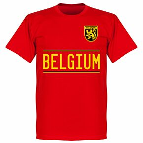 Belgium 2020 Team T-Shirt - Red