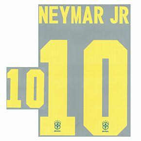 Neymar Jr 10 (Official Printing) - 20-21 Brazil Away