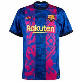 21-22 Barcelona 3rd Shirt