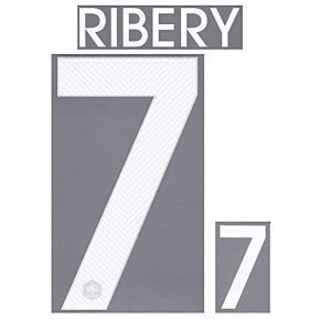 Ribery 7 - France Home KIDS Official Name & Number 2014 / 2015