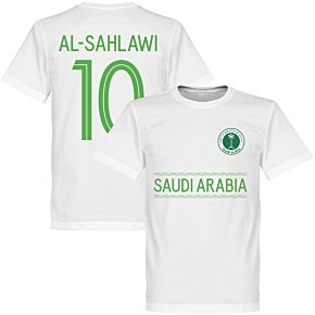 Saudi Arabia Al-Sahlawi Team Tee - White