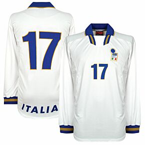 Nike Italy 1996-1998 Away Shirt - NEW (In Bag w/tags) Player Issue No.17 (Fuser) - Size XL *READY TO PUBLISH*