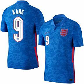 20-21 England Vapor Match Away Shirt + Kane 9 (Official Printing)