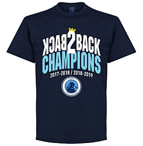City Back to Back Champions Tee - Navy