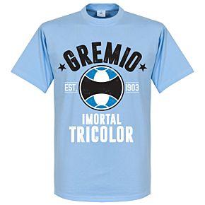 Gremio Established Tee - Sky